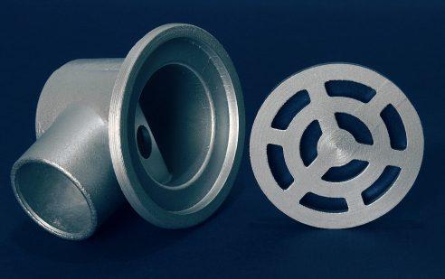 Рогов сифон Ø50 кръг малка чаша